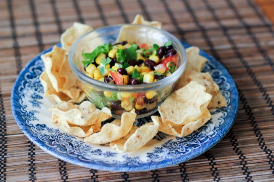 Slammin' Superbowl Salsa with Black Beans and Corn