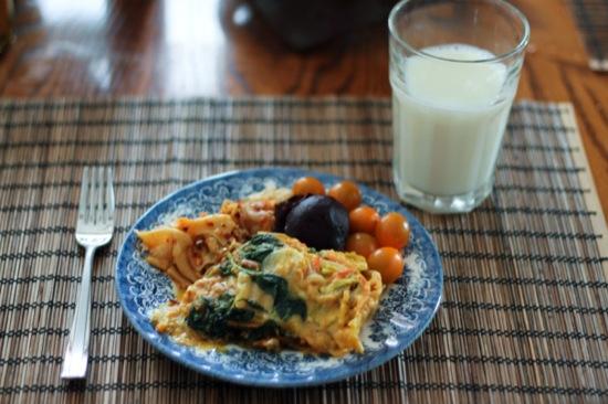 Meatless Monday: Pumpkin Veggie Lasagna