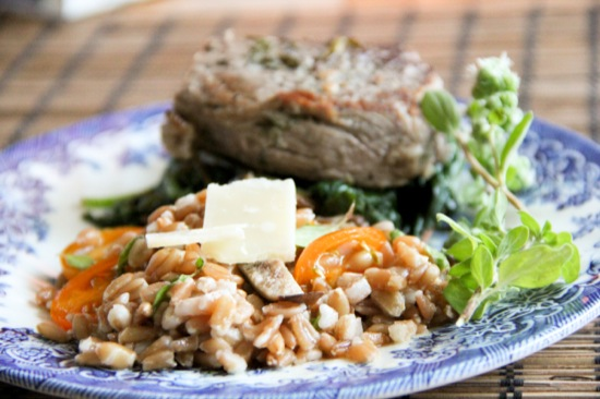 Mushroom Farro | Jessie @ The Happiness in Health