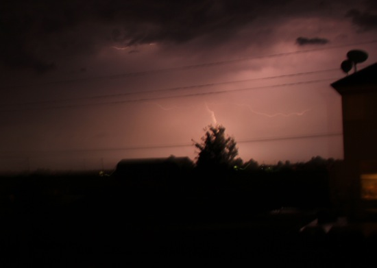 mid west lightning storm