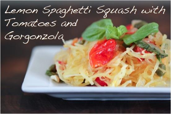 lemon spaghetti squash