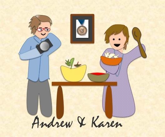 Andrew and Karen Vegetarian Flavor Bible